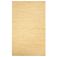 Jaipur Raggedy Rug From Ann Collection ANN03 - Yellow/Gold